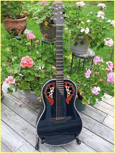 2009 Ovation Adamas Custom Parlor Ukulele, Violin, Ovation Guitars, Acoustic Guitars, Vintage Guitars, Harp, Silver Metal, Acoustic Guitar