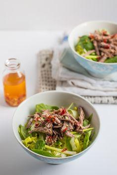 Piri Piri Beef Salad | The Hedgecombers