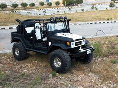 Custom FJ40 Land Cruiser - Pakistan