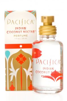 Indian Coconut Nectar Spray Perfume | Pacifica Perfume ~ I love this perfume ! It smells so good & Chad isn't allergic to it .