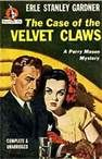 Another cover for The Case of The Velvet Claws. Congressman out with wife. Wife not his own. Timeless theme, in fact, as well as fiction.