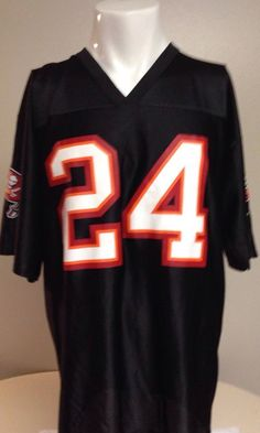 Tampa Bay Buccaneers Carnell Cadillac Williams Large Jersey #TampaBayBuccaneers