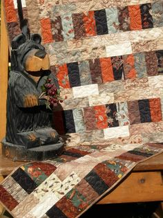 EASY Quilt Pattern  Rails and Trails Throw by LittleLouiseQuilts, $9.00