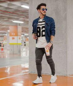 Moletom e jeans