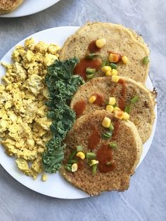 """Pancakes should be the definition of the word """"brunch."""" They're comforting, delicious, and always a crowd pleaser. However, what if for one day we ditched the typically """"swe…"""