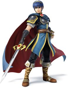 Marth---Super Smash Bros. for 3DS and Wii U Art & Pictures