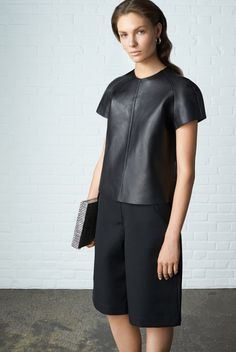 Black-out! #THEOUTNET #AcneStudios #Leather