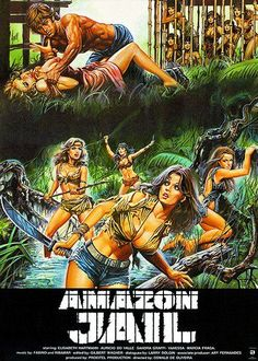 Amazon Jail - 1982 - Movie Poster