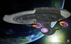 DAWNSTAR Class Starship.  What the AMBASSADOR (false version) / ALASKA  CLASS SHOULD HAVE BEEN LIKE.  Based on Andrew Probert's TRUE AMBASSADOR Class Design.