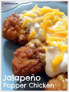 Jalapeño Popper Chicken at Jam Hands