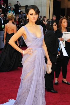 Mila kunis dress # redcarpet #gorgeous