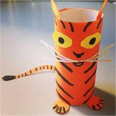 tigre rouleau papier toilette