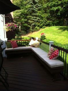 Backyard decks decks and backyards on pinterest for Deck gets too hot