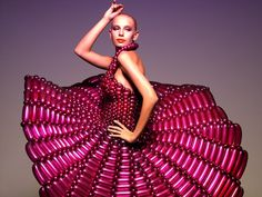 LIGHT AS AIR, THOSE DRESSES YOU WEAR. BALLOON COUTURE by RIE HOSOKAI.