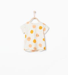 Faces print t - shirt - T - shirts - Baby girl (3 months - 3 years) - KIDS | ZARA United States