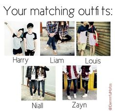 Your matching outfits