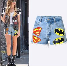 femmes bleu jeans denim shorts plage mini hot pants t-back string clubwear