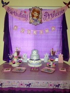 Princess Party ~ Sofia the First