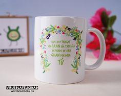 Que hoy tengas un GRAN día tan sólo depende de una GRAN persona: TÚ  Taza disponible en http://ift.tt/1n71PmC y si añades una agenda: Gastos de envío gratis! Con el código AGENDA2016 sólo hasta el domingo.  #virusdlafelicidad #taza #regalo #navidad #nadal #tassa #regal #papanoel #parenoel #granpersona #amicinvisible #amigoinvisible