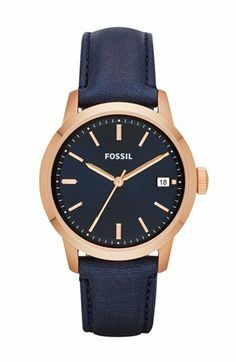 Fossil 'Townsman' Leather Strap Watch, 36mm | Nordstrom on Wanelo