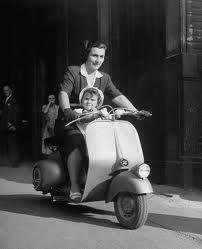 "Italian Vintage Scooter ""Vespa"""