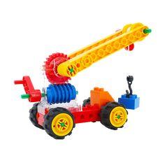 Amazing Educational Crane Made Of Plastic Blocks Puzzle Toys, Crane, Education, Learning, Fun, Plastic, Games, Amazing, Studying