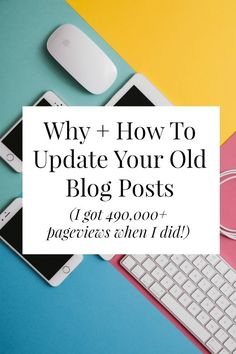 All the reasons you should make time to update old blog posts + a checklist of what you should do. Click through and find out what I did to make one of my old posts go viral! // http://yesandyes.org