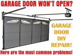 How To Fix A Stopped Garage Door - Garage Door Will Not Open