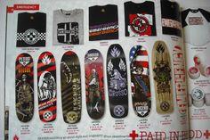 BLACK LABEL Skateboard Catalogue 2007 Skate Art. Rare. Grosso Lucero in Sporting Goods, Skateboarding, Decks | eBay
