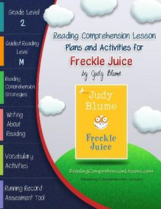 1000+ ideas about Freckle Juice on Pinterest | Comprehension, Common ...