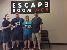 This group of agents was so close to escaping Classified! They escaped in just over an hour!