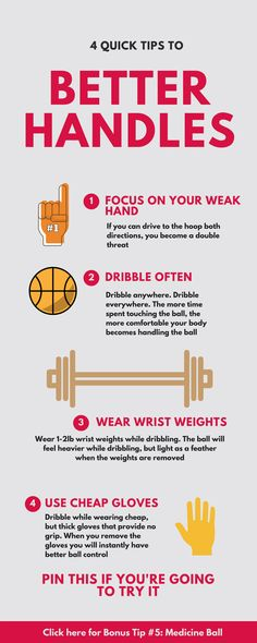 Quick tips to better handles. Don't forget to click on Bonus Tip # 5! Basketball tips, basketball drills, nba tips, basketball motivation, basketball tricks, basketball dribbling drills, ball handling drills, basketball shooting drills, basketball exercis dynamic stretching basketball