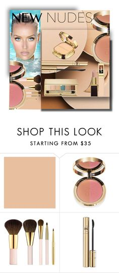"""NEW NUDES"" by littlefeather1 ❤ liked on Polyvore featuring beauty, Christian Dior, Ciaté, Bobbi Brown Cosmetics, AERIN, D&G, Estée Lauder, Beauty, makeup and nude"