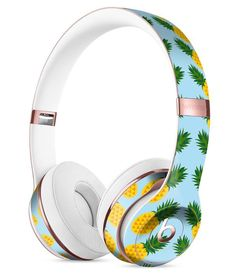 Tropical Twist PineApple v1 Full-Body Skin Kit for the Beats by Dre Solo 3 Wireless Headphones