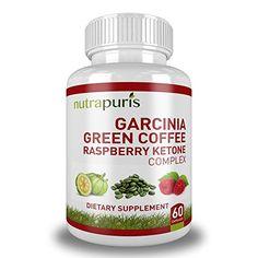 Garcinia Green Coffee Raspberry Ketones Complex - List price: $79.99 Price: $24.77