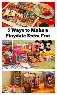 5 Ways to Make a Playdate Extra Fun #disney #disneyside #disneykids #sponsored