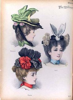 hats for women images French Fashion, Vintage Fashion, Vintage Ladies, Retro Vintage, Decorative Hair Combs, Hat Stores, 1890s Fashion, Types Of Hats, Victorian Hats