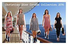 """Christian Dior Cruise Collection 2016"" by soguemoments ❤ liked on Polyvore featuring Christian Dior, Dior, diorcruise, 2016 and diorshow"