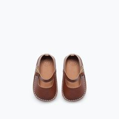 zara leather ballet flat for baby . on sale! . on the blog alongcamemolly.com