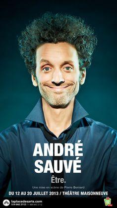 André Sauvé. Trop drôle.