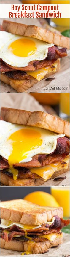 Boy Scout Campout Bacon Hash Brown Breakfast Sandwich is a big, bad breakfast sandwich with all your favorites. Hand-held for convenience! http://www.callmepmc.com/boy-scout-campout-bacon-hash-brown-breakfast-sandwich/?utm_campaign=coschedule&utm_source=pinterest&utm_medium=Paula%20%7C%20CallMePMc.com&utm_content=Boy%20Scout%20Campout%20Bacon%20Hash%20Brown%20Breakfast%20Sandwich