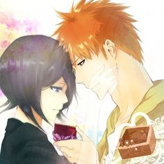 Image discovered by HebiHime. Find images and videos about bleach, ichigo kurosaki and ichiruki on We Heart It - the app to get lost in what you love. Bleach Ichigo And Rukia, Kuchiki Rukia, Bleach Anime, Otp, Bleach Couples, Bleach Fanart, Usui, Narusaku, Anime People