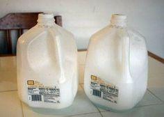 Como hacer la mascara de los soldados de Star Wars con envases de leche on http://pichicola.com