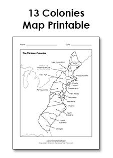 photo regarding Printable 13 Colonies Map known as Pinterest Пинтерест