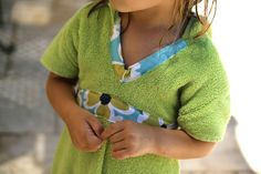 DIY Kids Beach Towel Cover-Up - Two Bobbins Later | Two Bobbins Later