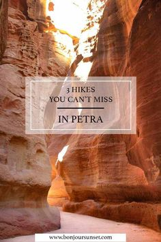 3 hikes not to miss in breathtaking Petra | Travel Blog | BonjourSunset