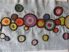 Сумка текстильная | Страна Мастеров Rag Quilt, Quilts, Beading Tutorials, Needle And Thread, Refashion, Fiber Art, Recycling, Beads, Rugs