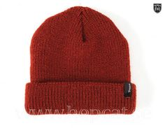 Buy the Brixton Hats Heist Beanie Hat - Rust at Village Hats. 0ff3324f9d82