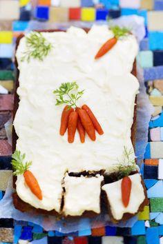 Carrot cake / Herkullinen jälkiruoka lapsiperheelle: porkkanakakku