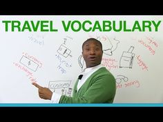 Learn English - Travel Vocabulary - YouTube